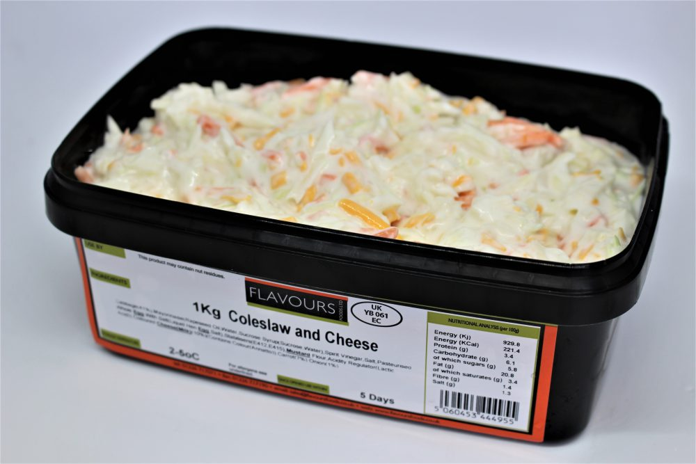 Coleslaw and Cheese