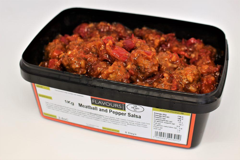 Meatball & Pepper Salsa