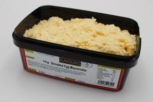 Shredded Egg Mayonnaise